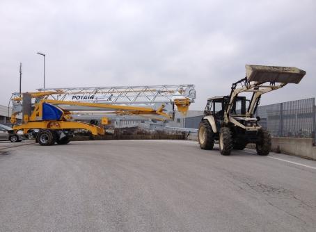 Grue de chantier à montage automatisé IGO M 14 POTAIN - JFM