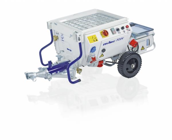 machine à jointoyer - pompe p20 m-tec