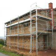echafaudage altrad renovation façade
