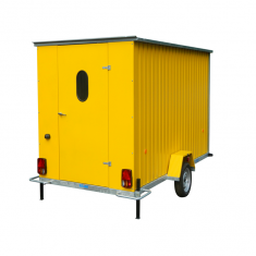 roulotte de chantier abris de chantier non isolé cabane de chantier mobile