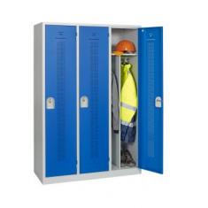 vestiaire industrie salisante, vestiaire salissant, vestiaire metallique de chantier, vestiaire 2 compartiments séparés