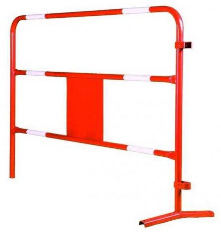 barrière tp rouge et blanche