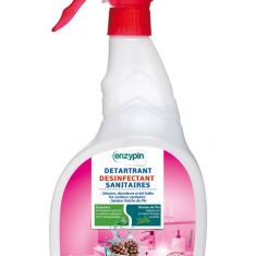 Spray désinfectant sanitaires biologique
