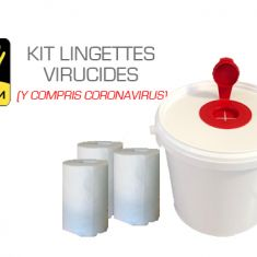 EPI Kit seau lingettes virucides