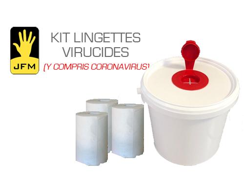 EPI Kit seau lingettes virucides