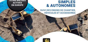 Solution de géolocalisation des engins de chnatiers, véhicules et accessoires
