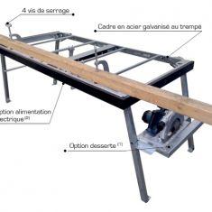 Table de découpe pour chantier batiment rennes