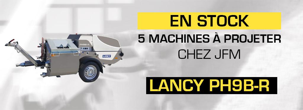 Arrivage 5 machines à projeter Lancy PH9B-R